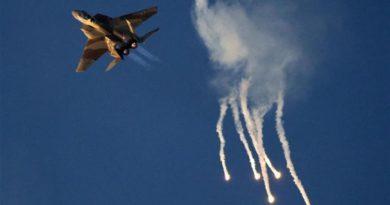 Siria lanza un misil contra un avión de Israel