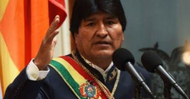 Presidente boliviano es intervenido