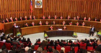 En venezuela, TSJ asumirá