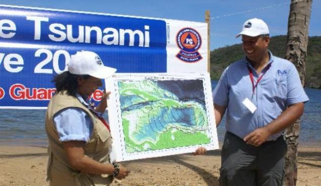 Con la participación de estados costeros, Venezuela participará en el ejercicio de simulacro de tsunami Caribe Wave