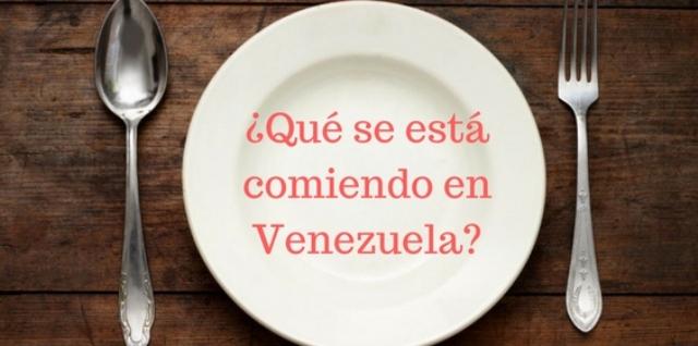 Alimentarse en Venezuela es una misión difícil