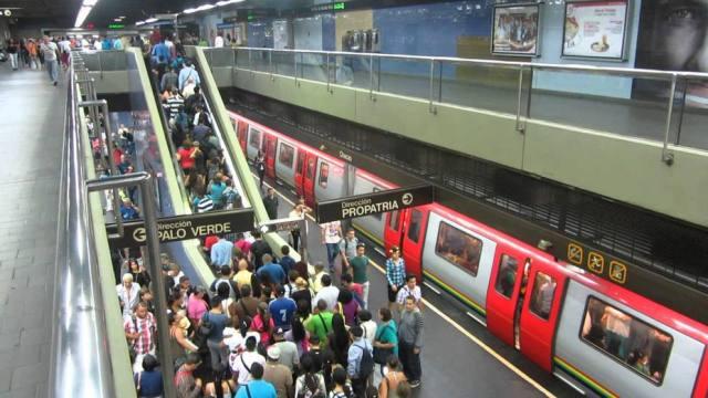 16 estaciones del Metro de Caracas