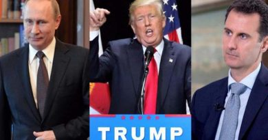 "Donald Trump tilda a Asad como ""carnicero"""