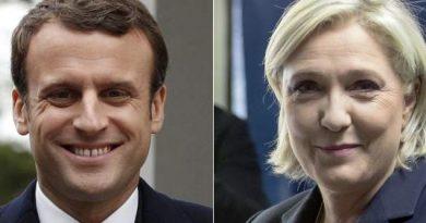 Macron y Le Pen irán a una segunda vuelta