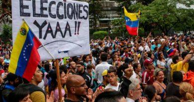 Continuá tensión política en Venezuela