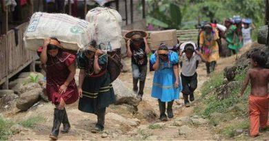 Se incrementa la cifra de desplazados en México