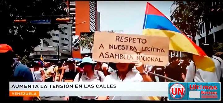Manifestaciones caracas Venezuela de la oposicion contra Nicolas Maduro