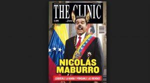 """Revista chilena lanza en portada """"Nicolas Maburro"""""""