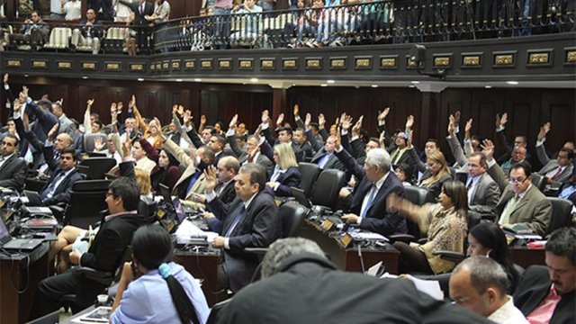 Asambleístas venezolanos