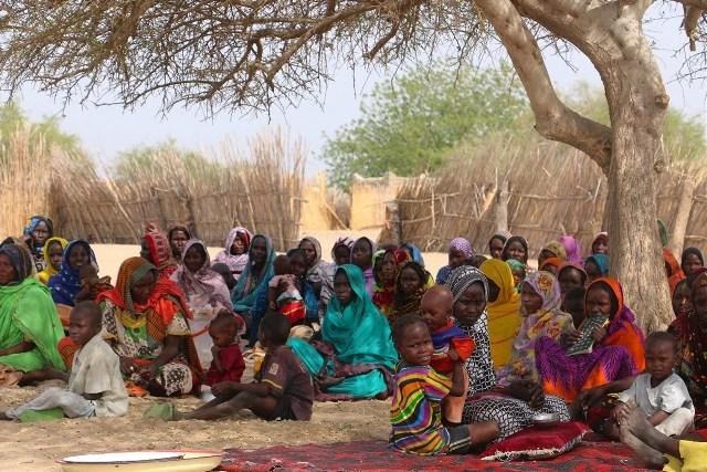 Desplazados afectados por el consumo de alimentos en mal estado