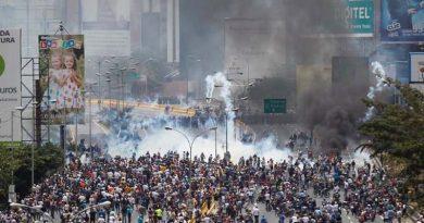 CIDH le pide a Venezuela sacar a militares de manifestaciones