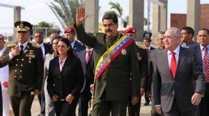 Atacaron a Maduro en visita a San Félix