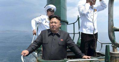 Trump le mandó submarino nuclear a Corea