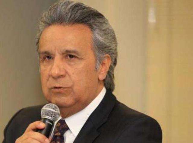 Lenín Moreno, llamó al pueblo ecuatoriano a trabajar juntos por el desarrollo de la nación,