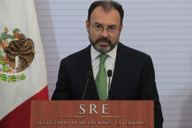 Canciller mexicano Luís Videgaray