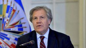 Almagro, líder de la OEA se pronuncia por situación venezolana