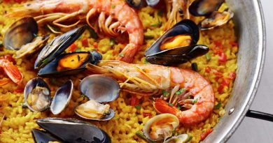Técnicas para hacer paella española