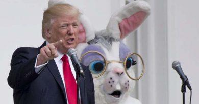 Trump pierde protagonismo en el día de pascua
