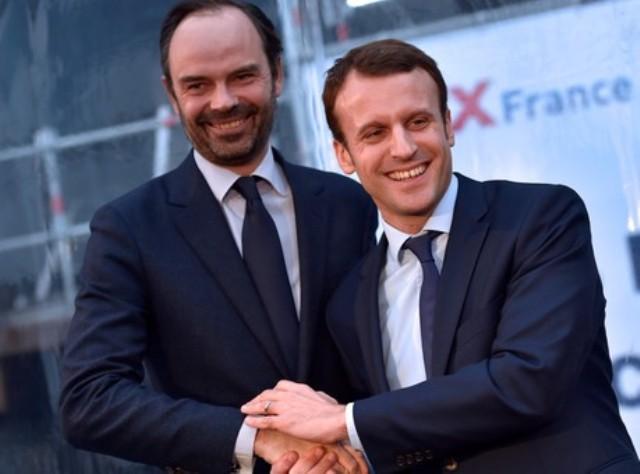 Édouard Philippe nombrado primer ministro por Macrom