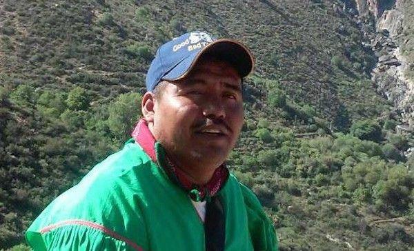 Líder indígena asesinado en Jalisco