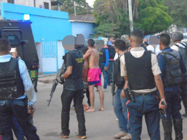 Situación de rehenes en Valle de La Pascua, dejó dos delincuentes muertos