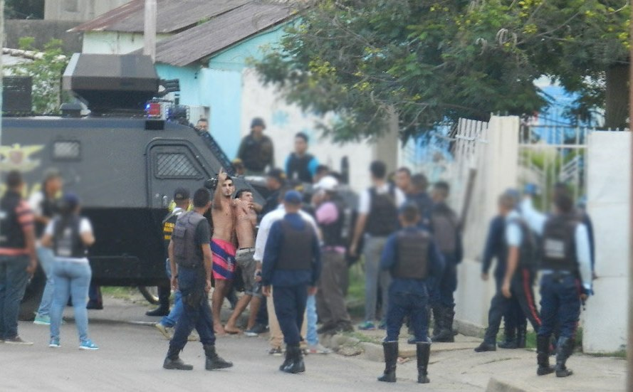 Una situación irregular interrumpió de manera abrupta la celebración del Día de las Madres entre los residentes de La Urbanización Guamachal