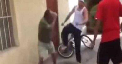 Chófer de ruta urbana preso por golpear a hombre mayor