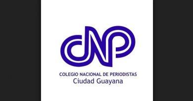 Comunicado del Colegio Nacional de Periodistas seccional Guayana