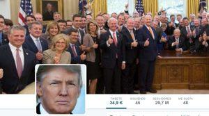 """Trump dice sufrir """"la mayor cacería de brujas"""""""