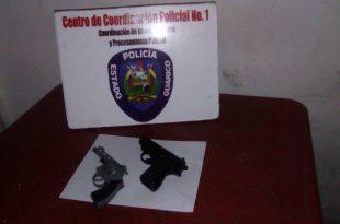 En enfrentamiento policial fallecen dos hermanos