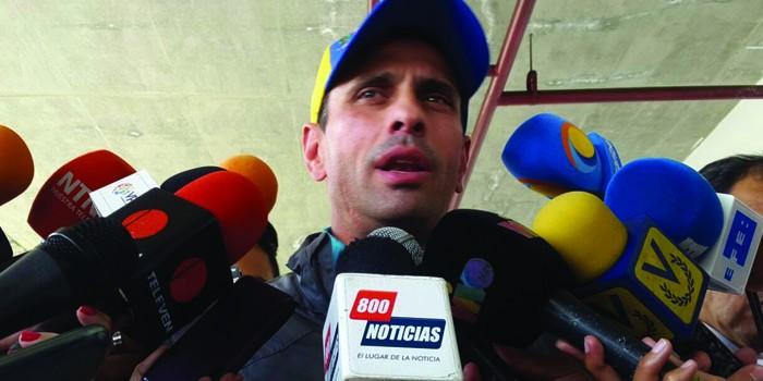 El Saime canceló pasaporte del excandidato presidencial Henrique Capriles