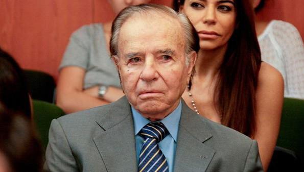 El expresidente Menem cumplirá a fines de 2017 con su segundo mandato como senador nacional por La Rioja