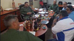 Nrsn estuvo con autoridades de Apure, Puerto Carreño y Amazonas