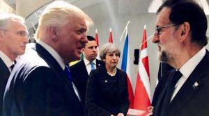 Trump en la OTAN, polémico como siempre