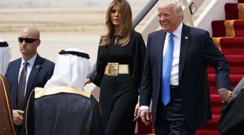Polémico encuentro entre Trump y Rey de Arabia Saudí