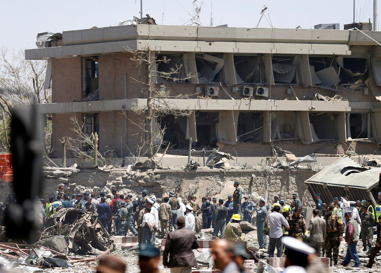 Camión bomba en Kabul, dejó más de 400 heridos