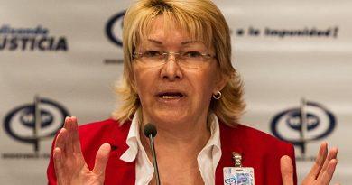 Luisa Ortega Díaz solicita antejuicio de mérito contra ocho magistrados del Tribunal Supremo de Justicia