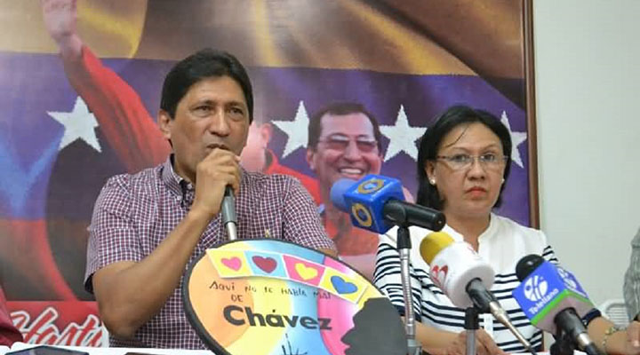 Barinas tiene nuevo gobernador, Argenis Chávez