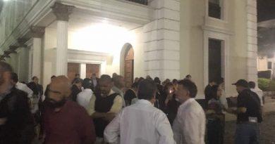 Colectivos armados crearon zozobra en inmediaciones de la Asamblea Nacional
