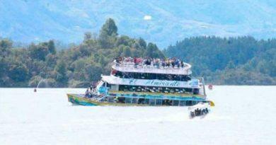 Tragedia marítima en Guatapé, Colombia, deja diez muertos