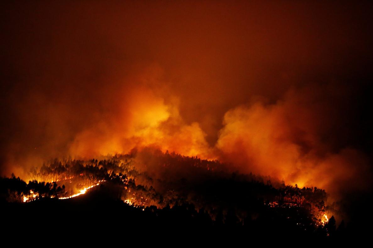 más de sesenta personas han muerto en el incendio forestal