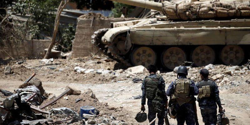 Cien mil niños están atrapados en Mosul