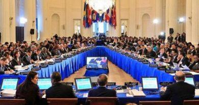 Culmina cumbre de la OEA