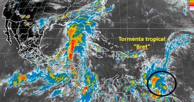 Tormenta tropical Bret pasó por costas venezolanas
