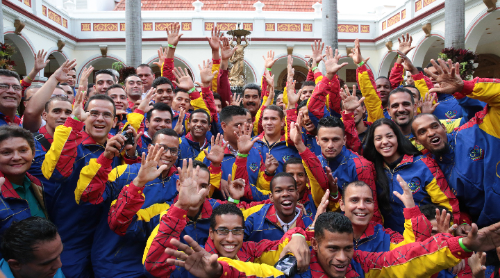 Medalla de bronce ganó Venezuela en los Juegos Sordolímpicos de 2017