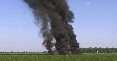 16 muertos deja accidente de avión militar en Mississippi