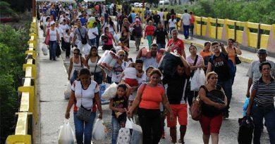 26 mil venezolanos se fueron para Colombia el lunes 24 de Julio