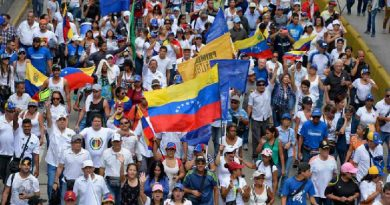 Venezolanos tomaran las calles a partir del medio de hoy