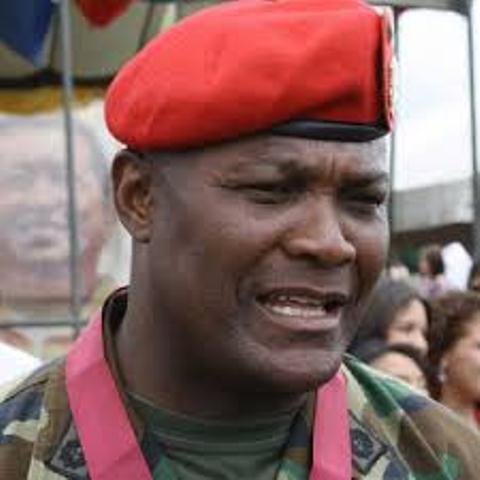 se encuentra en la lista de sancionados, el comandante general del Ejército, Jesús Suárez Chourio