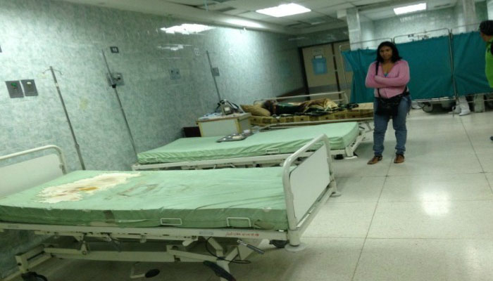 Hospitales venezolanos en crisis por falta de insumos médicos